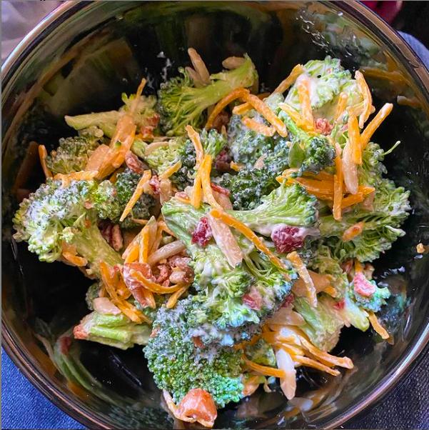 Lo-Carb Broccoli Salad